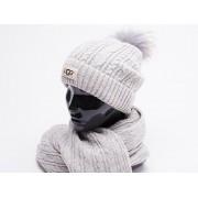 Комплект UGG( шапка,перчатки,шарф )