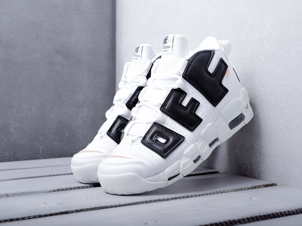 Кроссовки Nike Air More Uptempo x Off-white (10373)