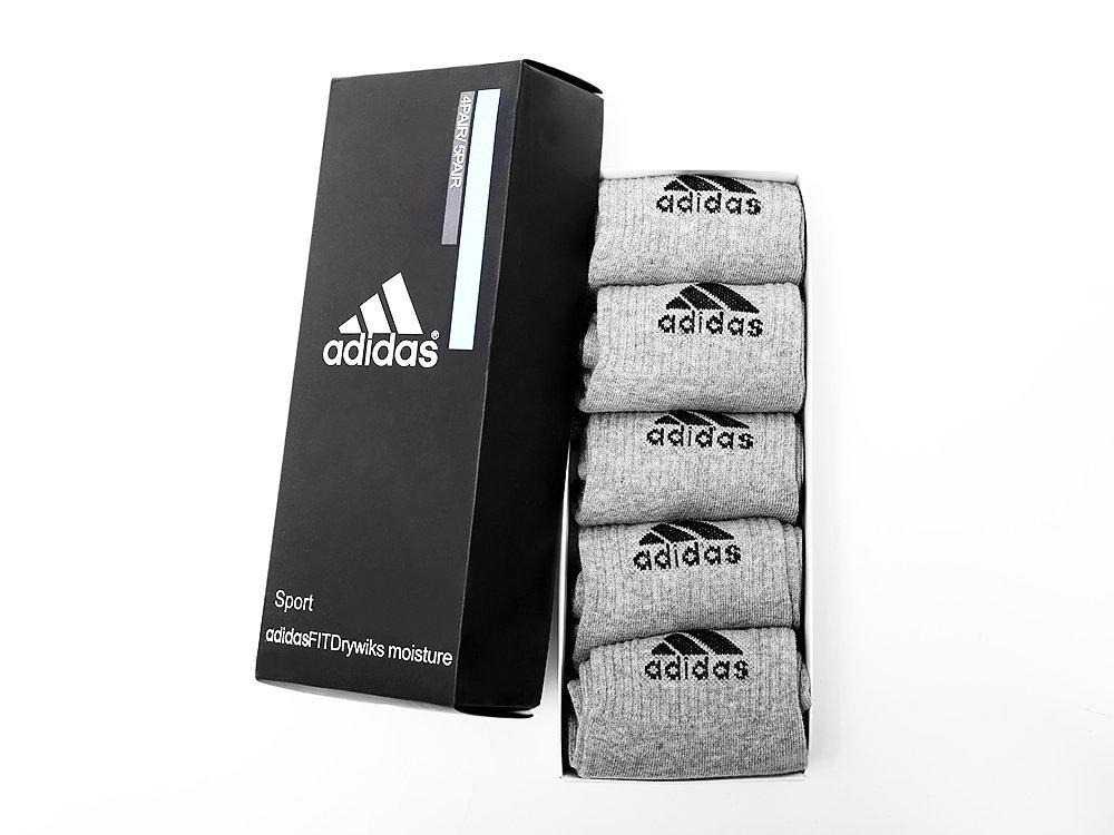 Носки длинные Adidas - 5 пар (10494)