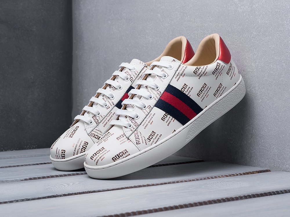 Кроссовки Gucci Ace Embroidered / 11052