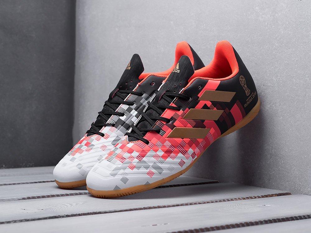 Футбольная обувь Adidas Predator 18+ Telstar IC (11950)