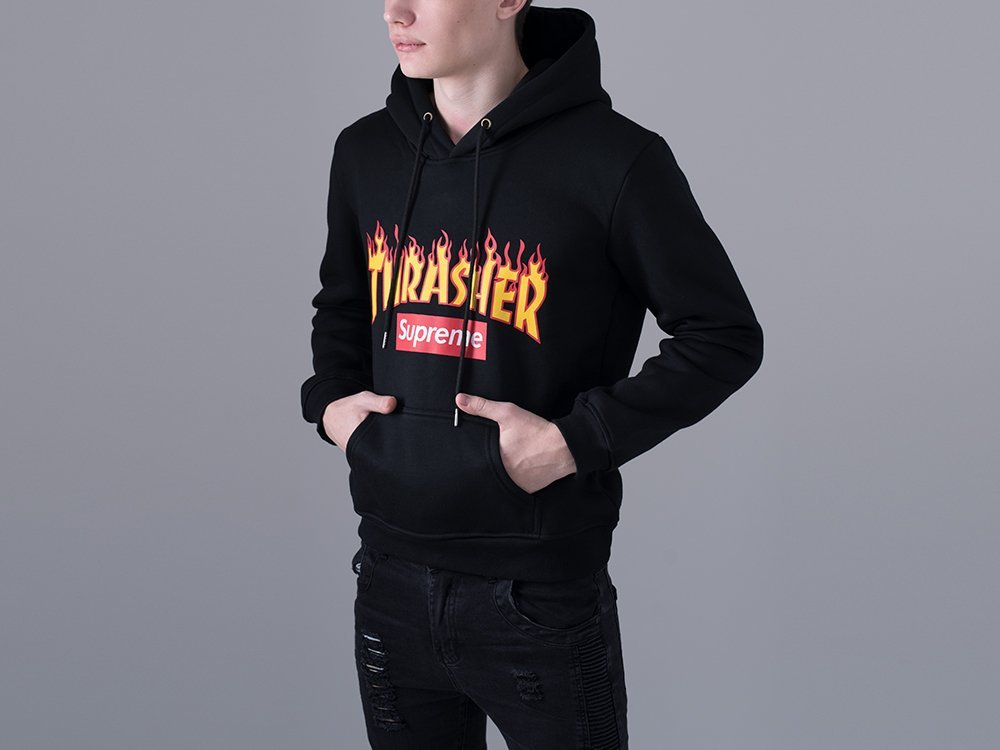 Худи Supreme x THRASHER / 12500