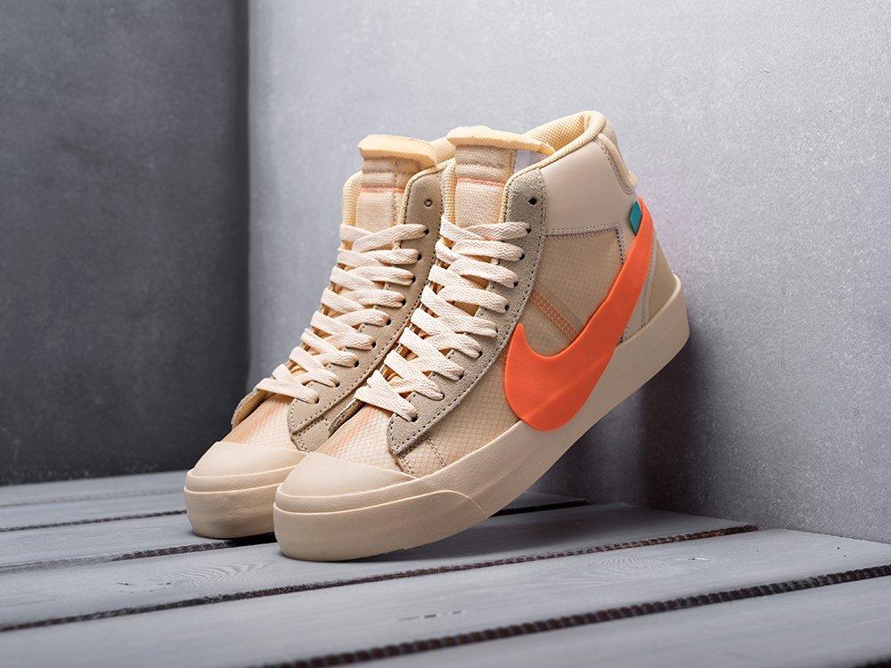 Кроссовки Nike x OFF-White Blazer Mid (12974)