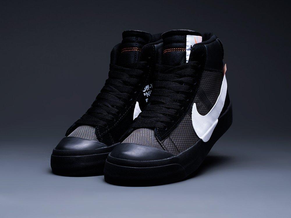 Кроссовки Nike x OFF-White Blazer Mid (12975)