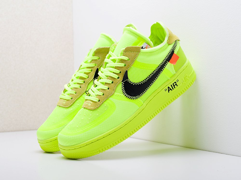 Кроссовки Nike x OFF-White Air Force 1 Low (17244)