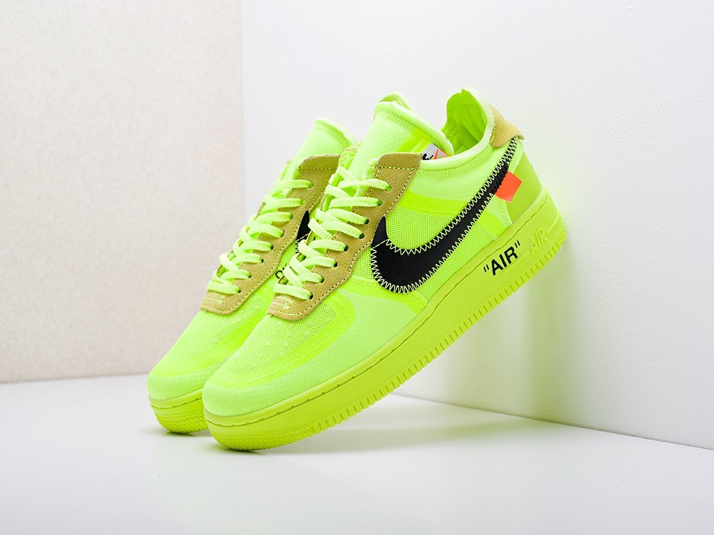 Кроссовки Nike x OFF-White Air Force 1 Low (17245)