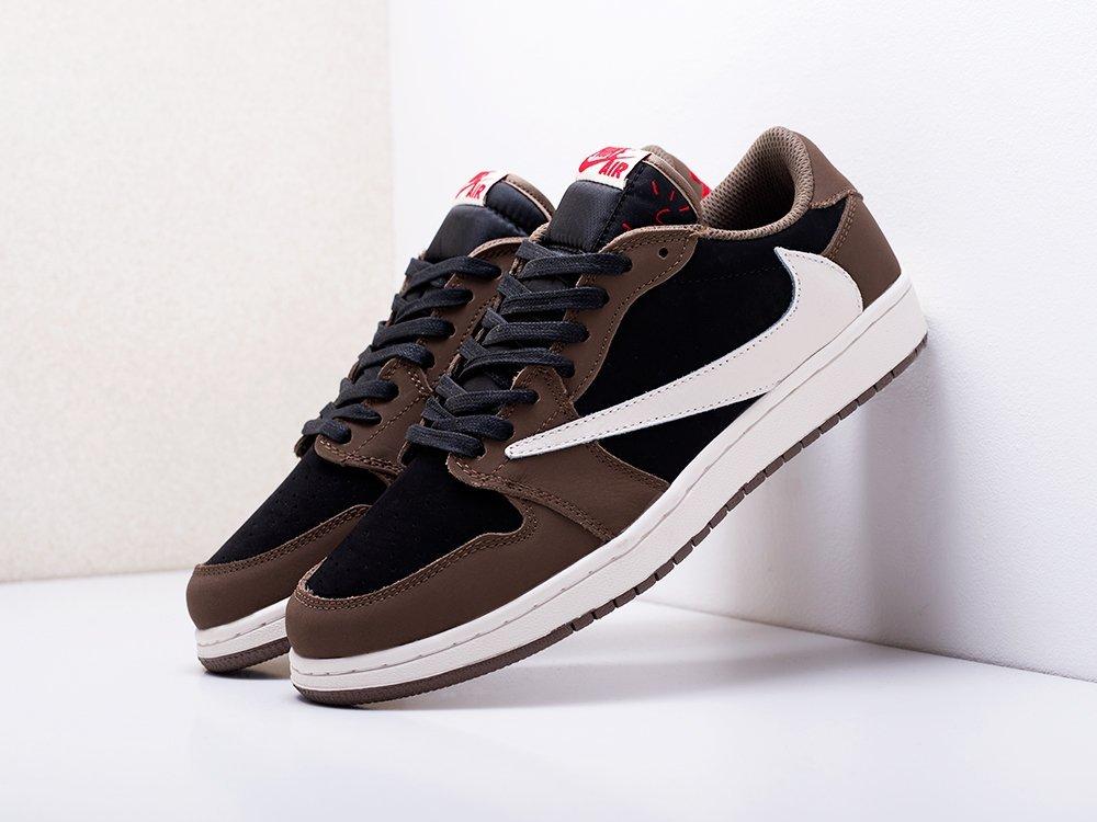 Кроссовки Nike Air Jordan 1 Low x Travis Scott (17283)