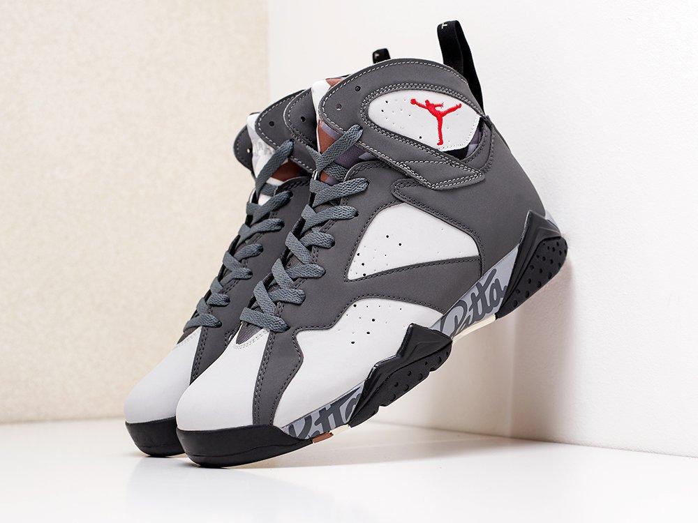 Кроссовки Nike x Patta Air Jordan 7 (18100)