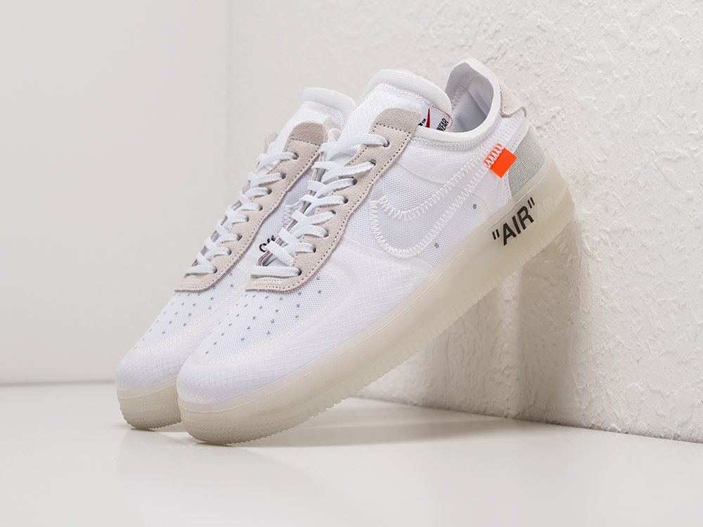 Кроссовки Nike x OFF-White Air Force 1 Low (19740)