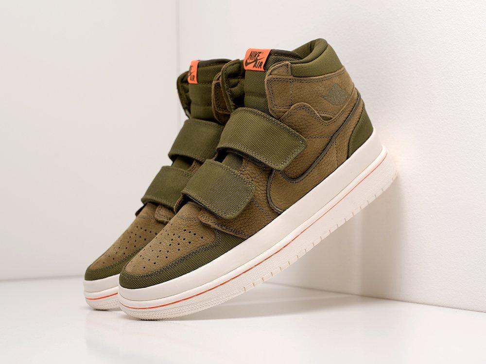 Кроссовки Nike Air Jordan 1 High Double Strap (19847)