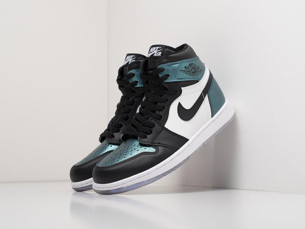 Sneakers Nike Air Jordan 1 green demisezon female