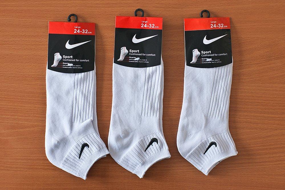Носки короткие Nike - 3 пары / 2794