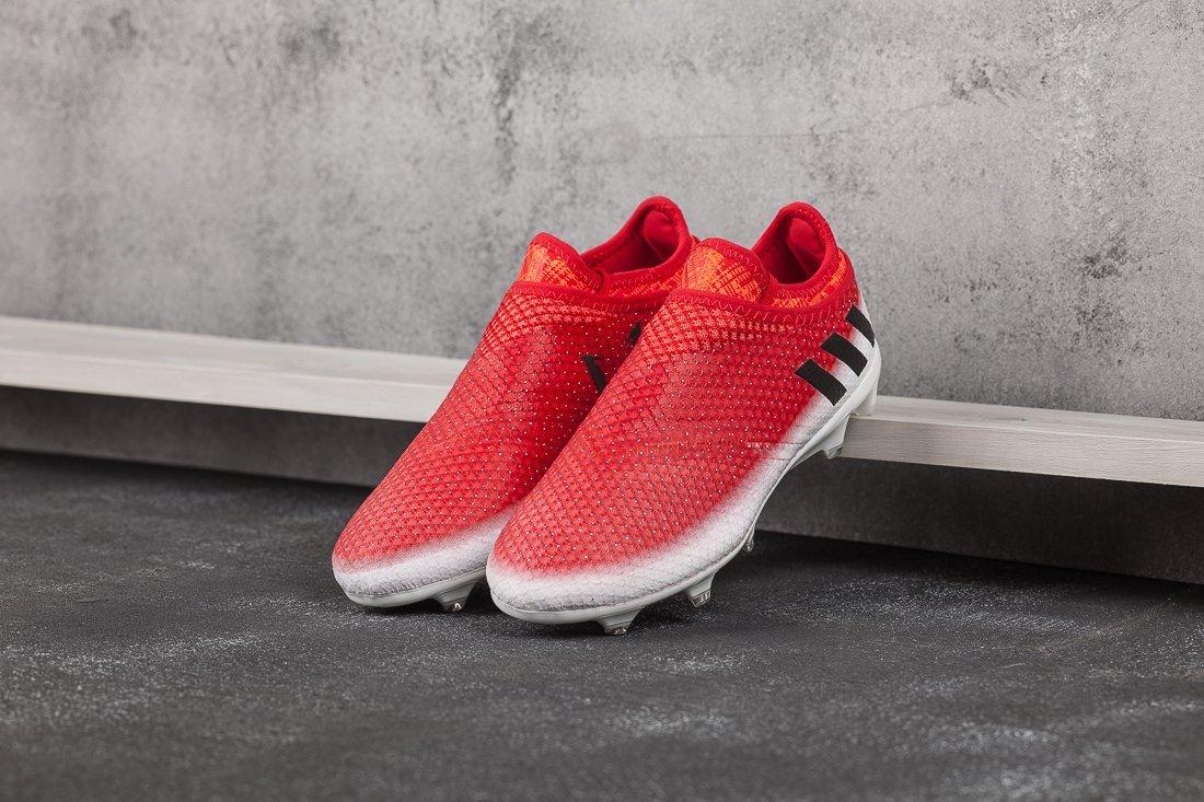 Футбольная обувь Adidas Messi 16+ Pureagility FG (7686)