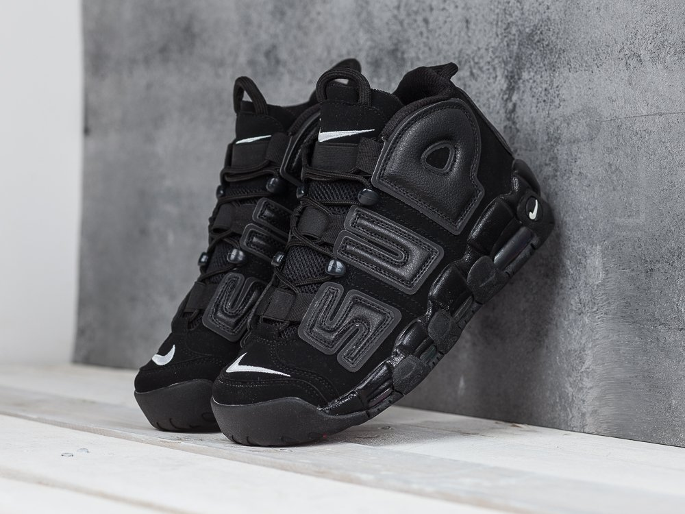 Кроссовки Nike Air More Uptempo x Supreme (8053)