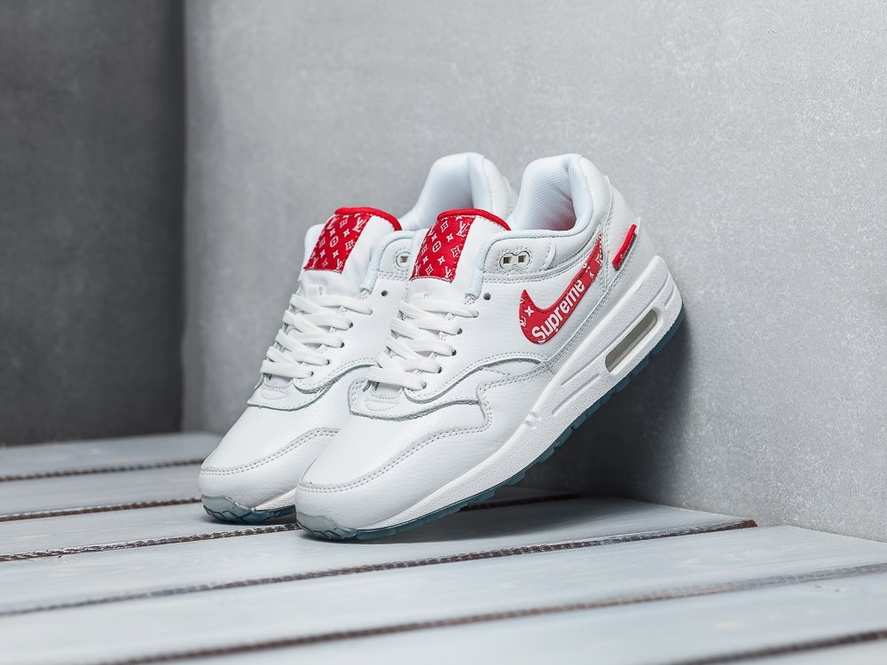 Кроссовки Nike Air Max 1 x Supreme x Louis Vuitton / 8769