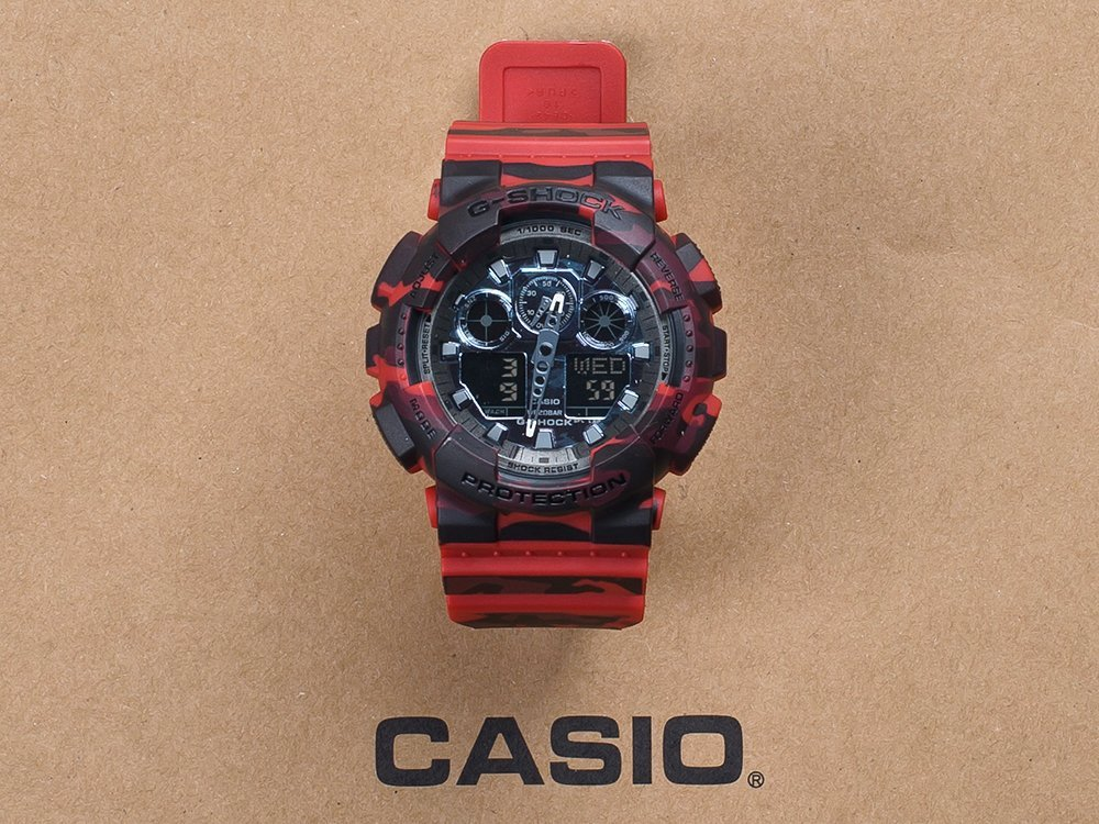 Часы Casio G-Shock GA-100 / 9384