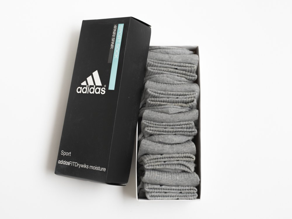 Носки короткие Adidas - 5 пар / 9584