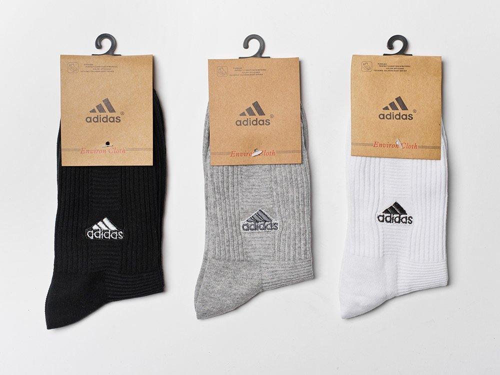 Носки длинные Adidas - 3 пары / 9592