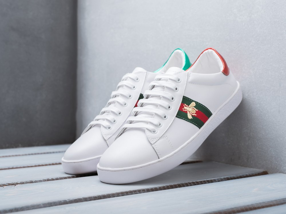 Кроссовки Gucci Ace Embroidered / 9708