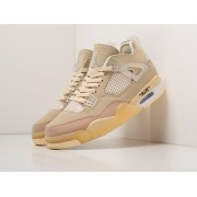 Кроссовки Nike x OFF White Air Jordan 4 Retro